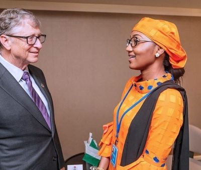 zahara indimi meets bill gates