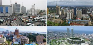A collage of some of the ranked cities. Photo source: Face2Face Africa Source: UGC Read more: https://www.legit.ng/1342097-lagos-ranked-2nd-expensive-cities-africa-expats.html