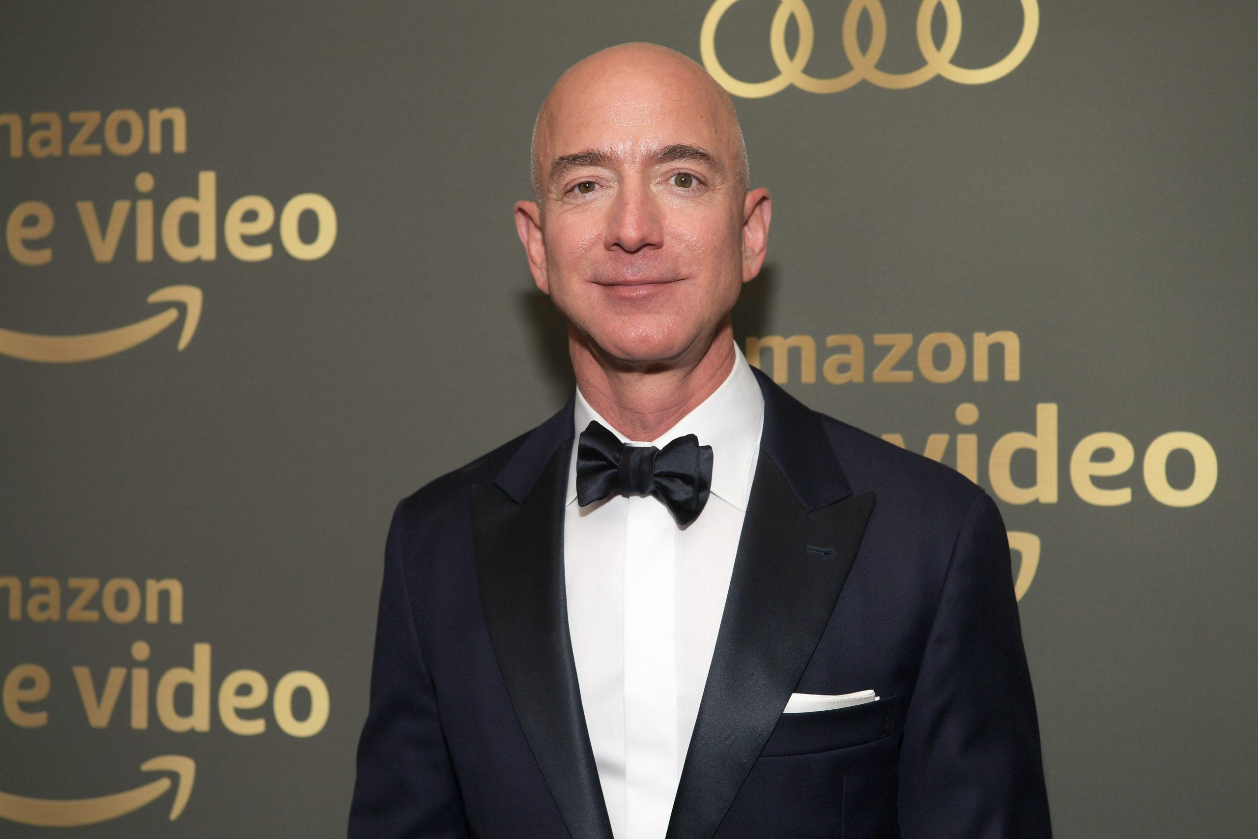 Jeff <b>Bezos</b>' wealth...