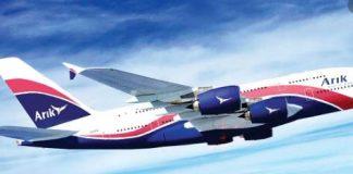 Arik Air fleets